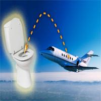 Chuyện gì xảy ra khi bạn nhấn nút xả bồn cầu trên máy bay?