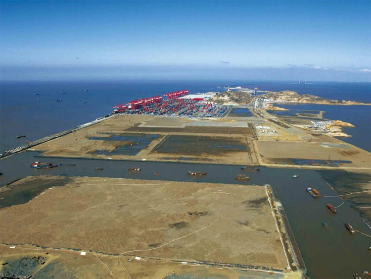 Dự án cảng nước sâu Thượng Hải Yangshan