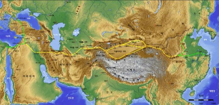 """Dự án tái tạo """"Con đường tơ lụa"""" cổ của Trung Quốc"""