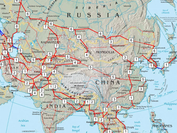 Mạng lưới đường cao tốc châu Á