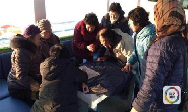 Con thuyền nhận nhiều phản hồi tích cực từ người dân Triều Tiên.