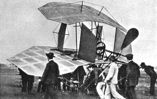 Chiếc máy bay của Karl Jatho.
