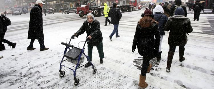 Khi vòng xoáy có xu hướng yếu đi thì mùa đông sẽ kéo dài và lạnh hơn.