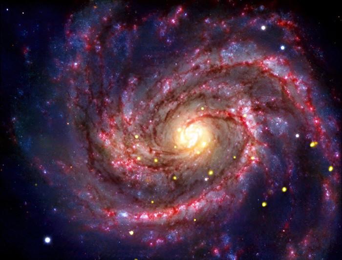 Cấu trúc vũ trụ như các thiên hà đều được lưu trữ trong CMB.