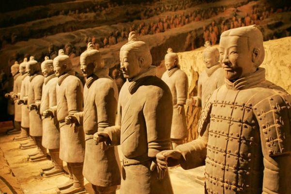 Quá trình khảo cổ đã cho thấy, số loài động vật được sử dụng ở đời Tần có ít nhất là 12 loài.