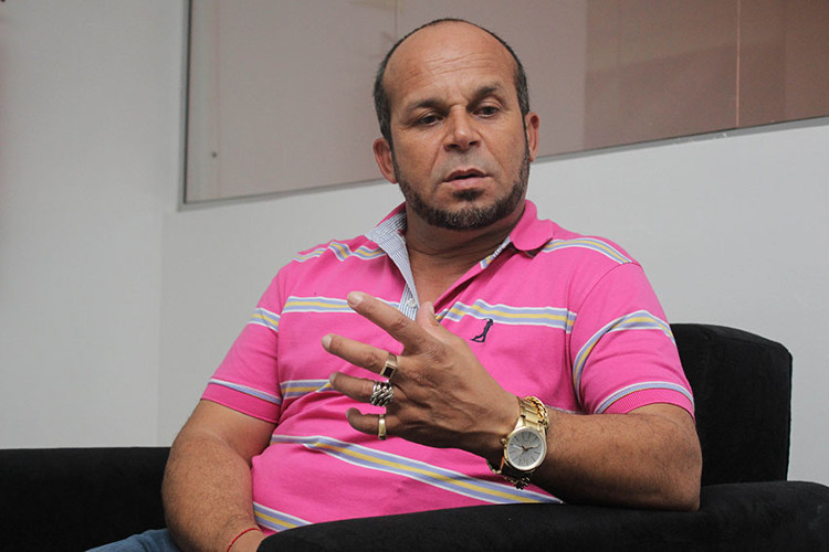Nhà tâm linh José Ferreira dos Santos Carlinhos.