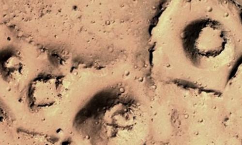 Hình ảnh được cho là của nền văn minh cổ đại trên sao Hỏa.