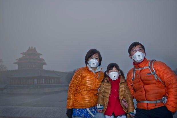 Ô nhiễm không khí tại Trung Quốc.