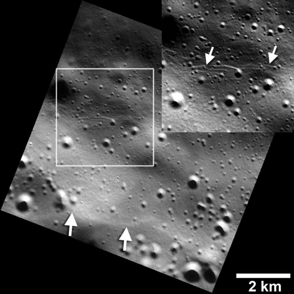 Khi phát hiện những vách núi trẻ được phát hiện trên sao Thủy, các nhà khoa học đặt câu hỏi phải có hoạt động địa chất mới tạo ra chúng được.