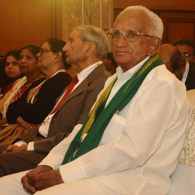 Lão nông Subba Rao giờ đã 80 tuổi.