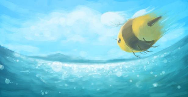 """Đại dương cũng có những chú """"Ong"""" cần mẫn."""