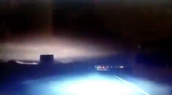 Khoảnh khắc màn đêm bừng sáng do thiên thạch nổ