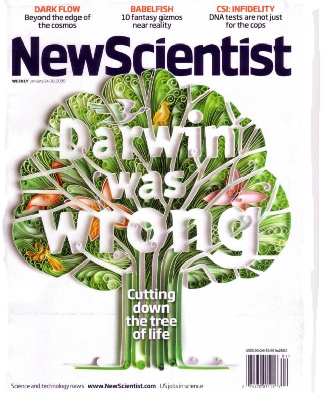 Bài báo trên New Scientist khẳng định Darwin đã sai.