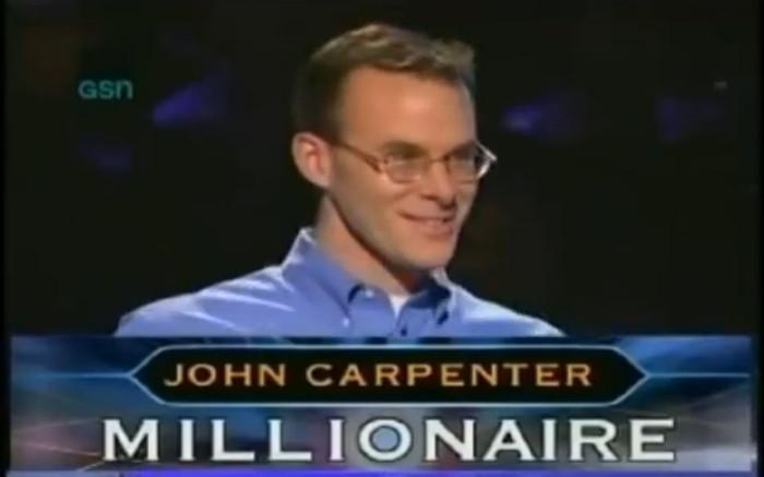 """John Carpenter trở thành người chơi đầu tiên lập nên kỷ lục trong gameshow """" Ai"""