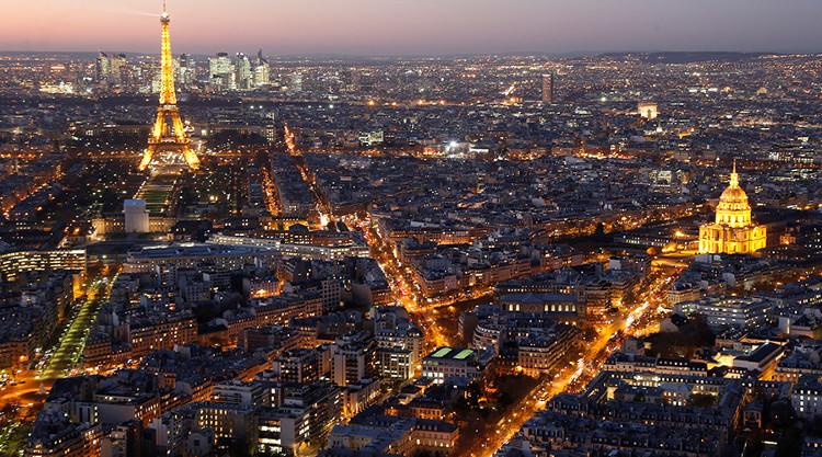 Bụi vũ trụ được tìm thấy tại ba thành phố lớn ở châu Âu.