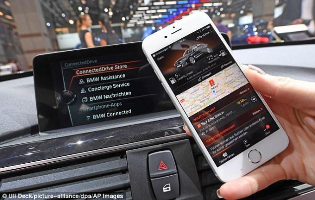 Quá trình này được thực hiện thông qua hệ thống ConnectedDrive sử dụng SIM điện thoại.