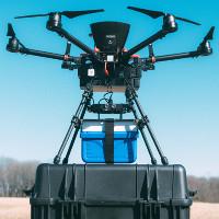 Drone sẽ là phương tiện vận chuyển máu trong tương lai