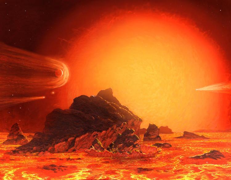 Sự sống trên Trái Đất sẽ bị Mặt Trời thiêu rụi sau 5 tỷ năm nữa.