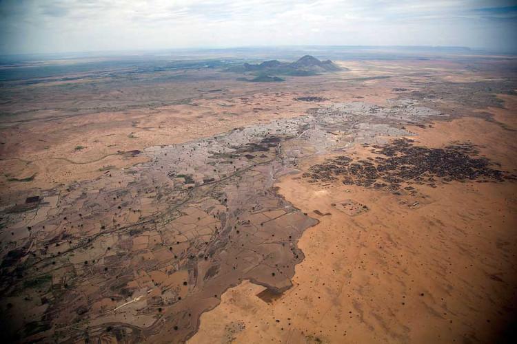 Sudan có thể trở thành nơi không thể sống được vì biến đổi khí hậu.