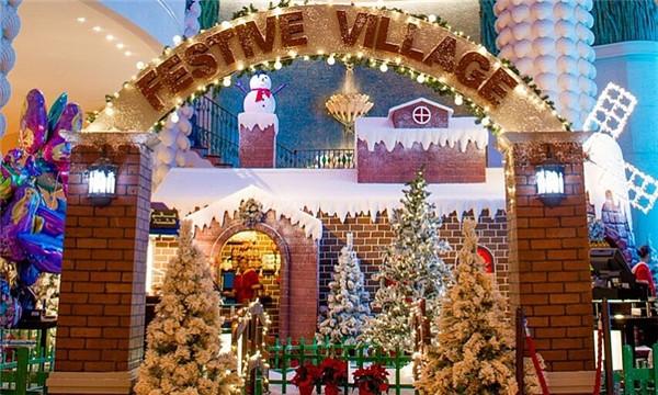Dubai cũng lộng lẫy khi Giáng sinh về không kém nơi nào đâu nhé.