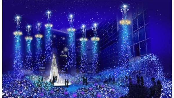 Giáng sinh là thời điểm Tokyo tỏa sáng rực rỡ.
