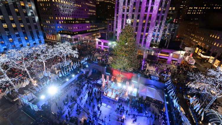 New York lộng lẫy, sẵn sàng cho Giáng sinh.