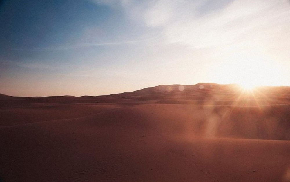 Sahara là điểm đến tiếp theo mà không bao giờ du khách bị lạnh.