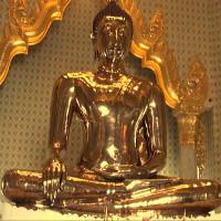 Tượng Phật vàng 5,5 tấn ẩn mình trăm năm dưới vỏ thạch cao