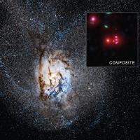 Thiên hà phát sáng rực rỡ khi sinh ra số sao gấp 4.500 lần Ngân Hà