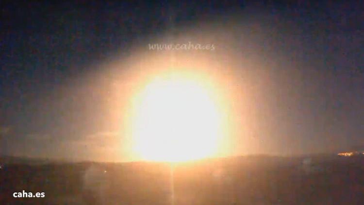 Cầu lửa rực chói trên bầu trời Tây Ban Nha nhiều khả năng có nguồn gốc từ tiểu hành tinh.