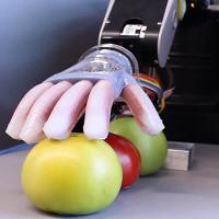 """Chế tạo thành công tay robot biết """"sờ"""", mang lại cảm giác êm ái như tay người"""
