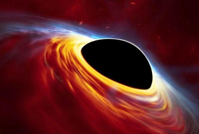 Đĩa vật chất mỏng quay nhanh chứa những tàn dư của một ngôi sao giống Mặt Trời bị xé nát bởi lực hấp dẫn của hố đen.