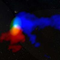 Ngôi sao nguyên thủy tạo lốc xoáy trong vũ trụ