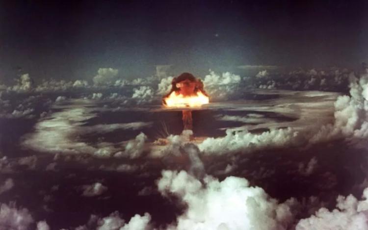 Một vụ nổ hạt nhân.