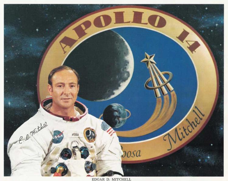 Cựu phi hành gia NASA Edgar Mitchell.