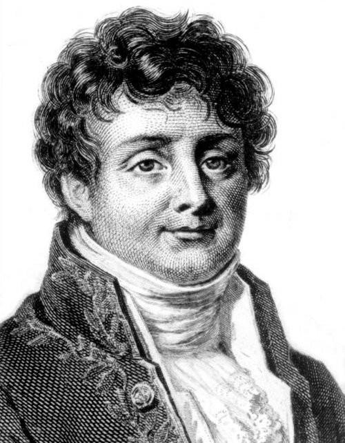 Jean Baptiste Joseph Fourier - Nhà toán học, nhà vật lý người Pháp.