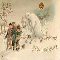 Chết khiếp với thiệp Giáng sinh kinh dị thế kỷ 19