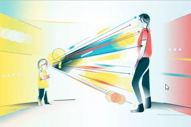 Thiếu giao tiếp bằng mắt là một trong những dấu hiệu sớm của bệnh tự kỷ