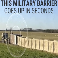 Video: Dựng hàng rào quân sự 400m trong chưa đầy 1 phút