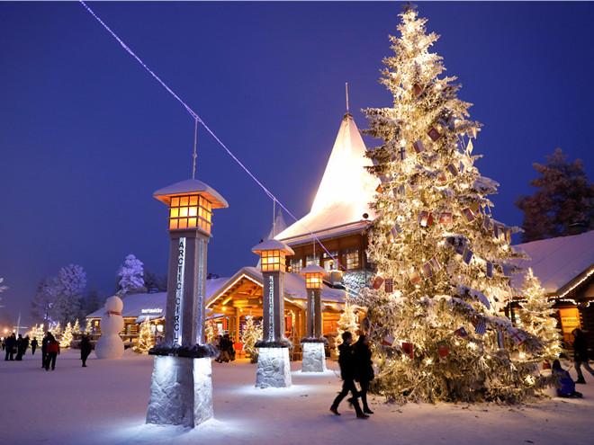 Theo truyền thuyết, vị trí ngôi nhà của Santa được giữ bí mật, chỉ vài người biết.