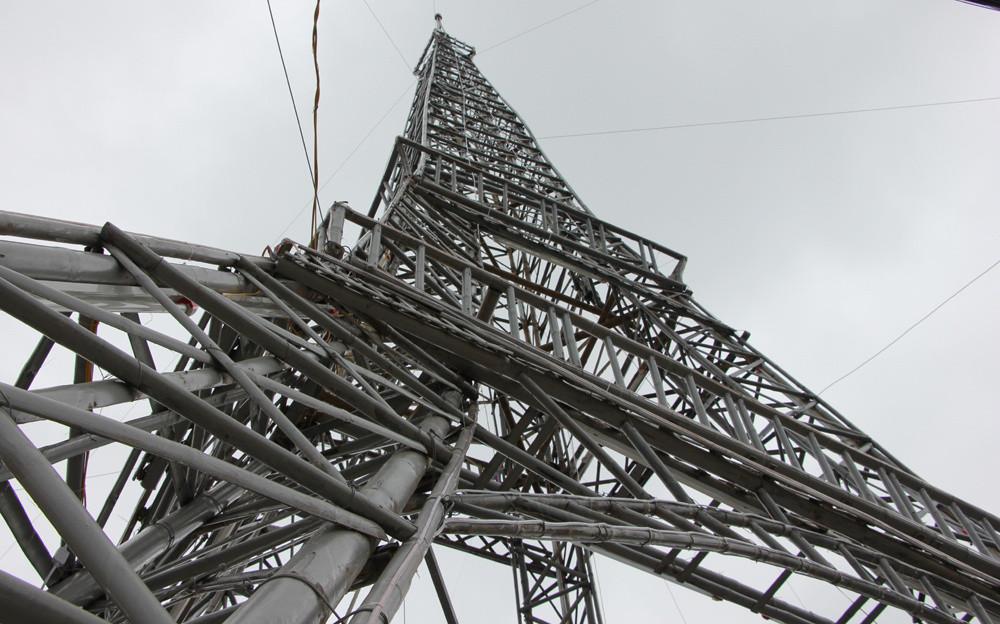 """""""Tòa tháp"""" có chiều cao 34m, phần chân đế rộng 11m."""
