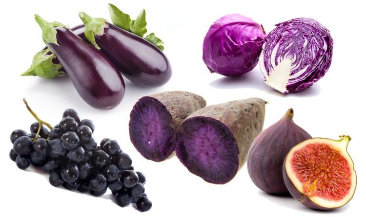 Người hay ăn rau và hoa quả màu tím thường xuyên sẽ giảm được nguy cơ bị huyết áp cao.