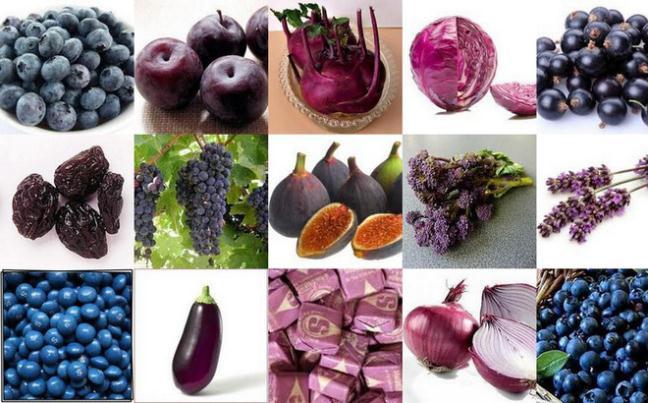 Các thực phẩm màu tím mang đến nhiều lợi ích sức khỏe.