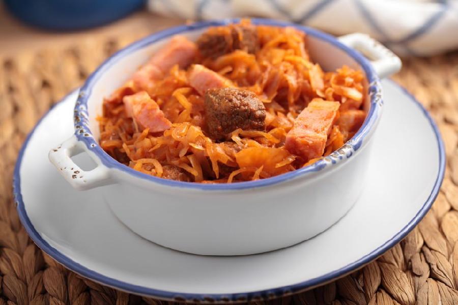 Bigos là món ăn đặc trưng của người Ba Lan được dùng vào ngày 25.