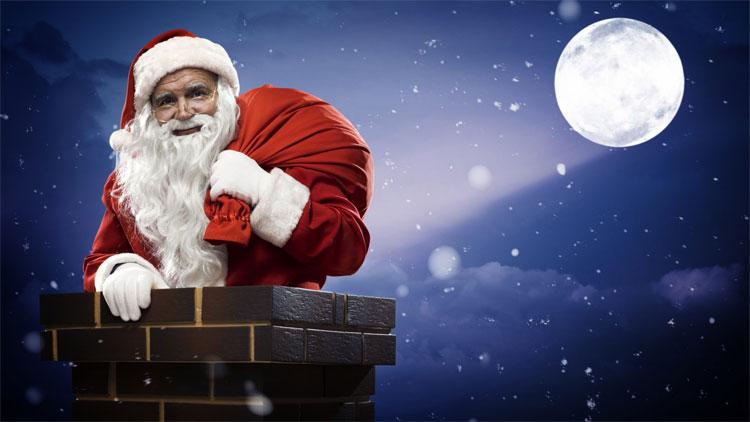 Theo truyền thuyết, ông già Noel thường chui qua ống khói để mang quà cho các em nhỏ vào đêm Giáng sinh. (