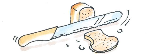 Dao thái bánh mì
