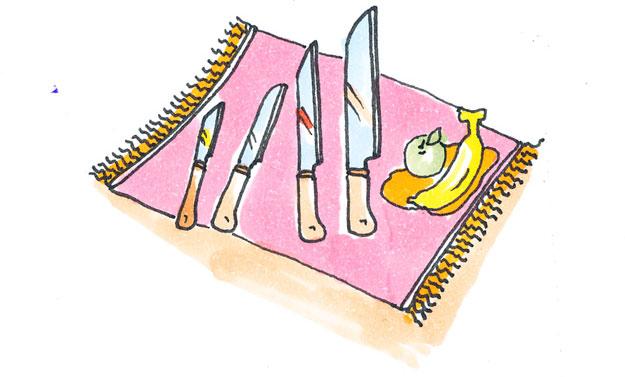 Dao là một dụng cụ quan trọng không thể thiếu trong mỗi căn bếp