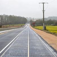 Pháp có đường năng lượng mặt trời