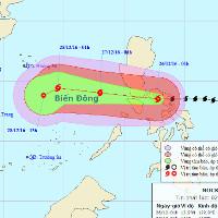 Tối và đêm nay không khí lạnh sẽ ảnh hưởng đến Bắc Bộ, bão Nock-ten vào biển Đông