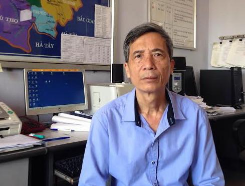 Ông Lưu Minh Hải - Giám đốc Trung tâm khí tượng thủy văn Lào Cai.